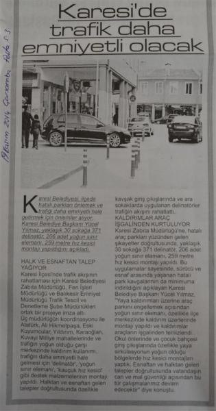 19.11.2014 Basında Çıkan Haberlerimiz.....