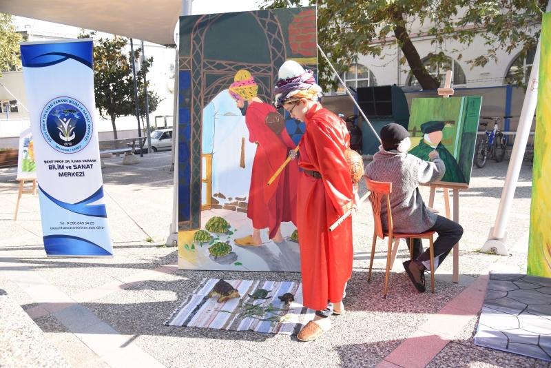 Karesi'de bilim ve sanat buluştu