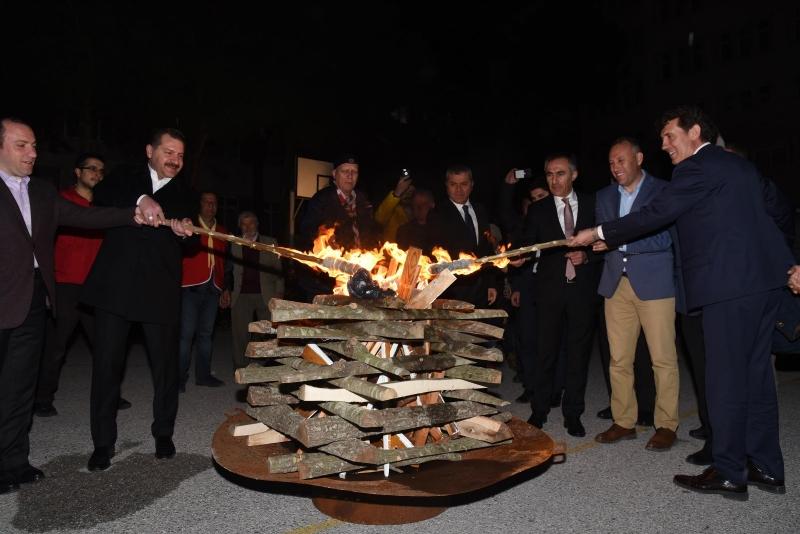Keşşaflar Çanakkale ruhunu yaşattı