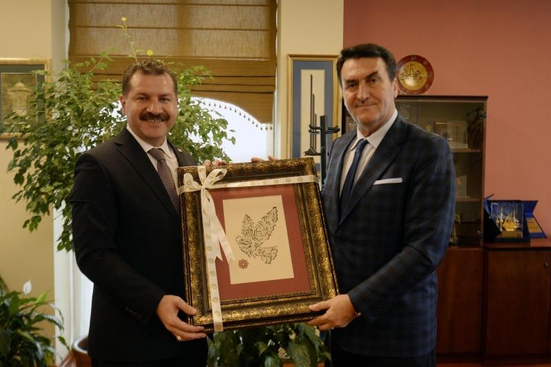 Başkan Yılmaz, Bursa'da