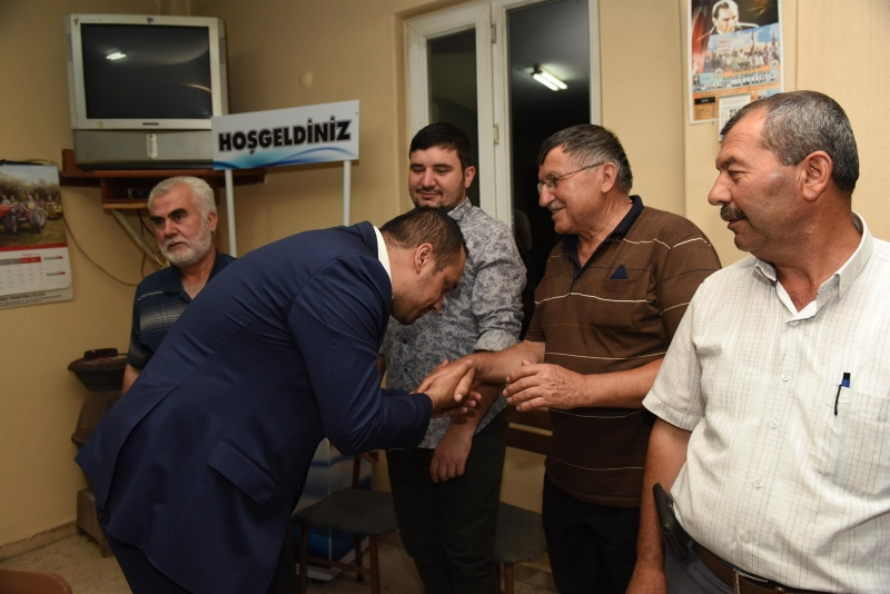 Büyük ve Güçlü Türkiye için gece gündüz sahada