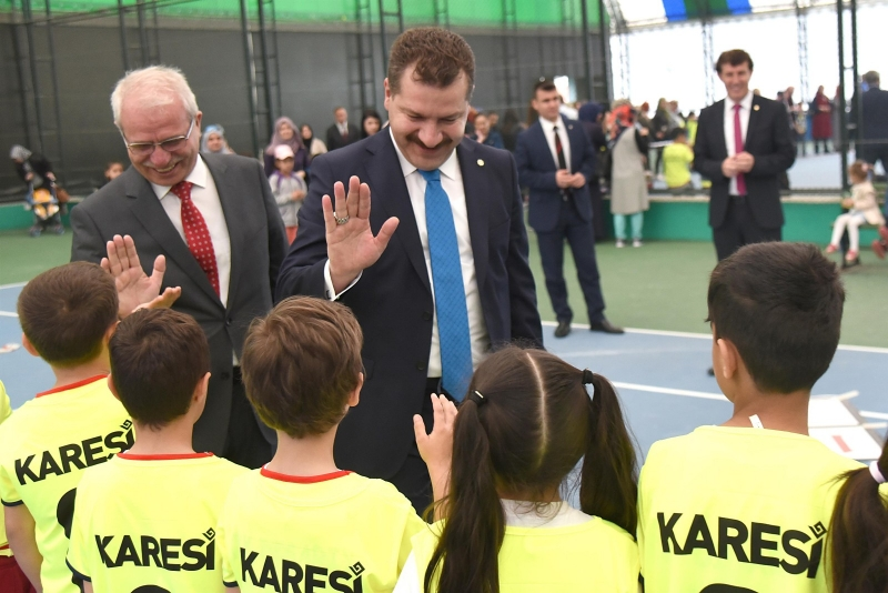 Haydi Gençler Karesi Spor'a