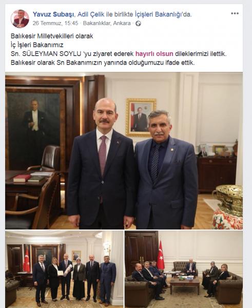 AK Partili Vekiller Kurtdereli Güreşleri'ne sahip çıkıyor