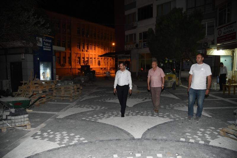 Yücel Başkan'dan Mekik Sokak'a estetik dokunuş