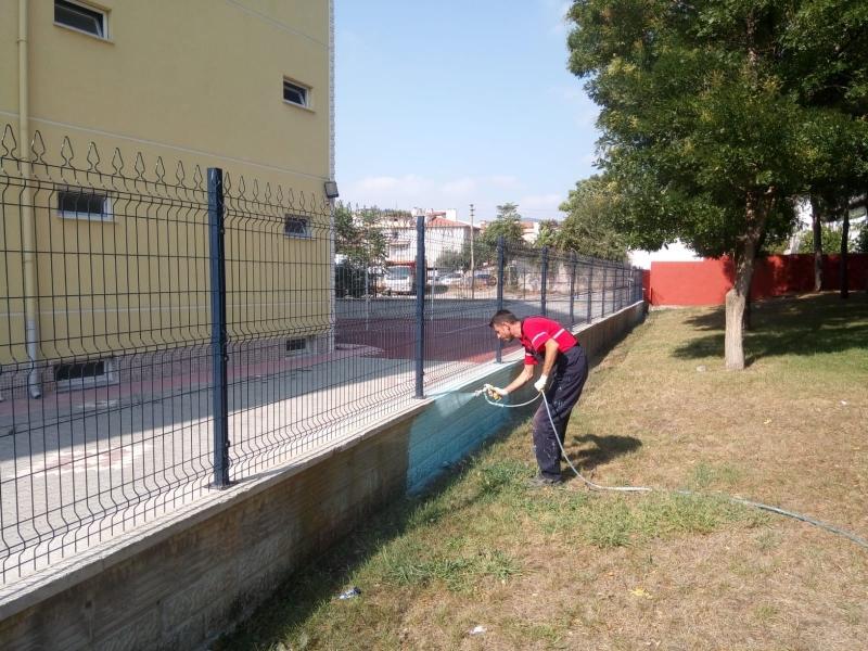 Karesi'de okullar yeni döneme hazırlanıyor
