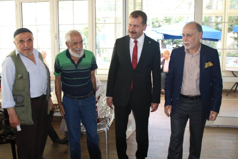 Başkan Yılmaz'dan Darülaceze'ye ziyaret