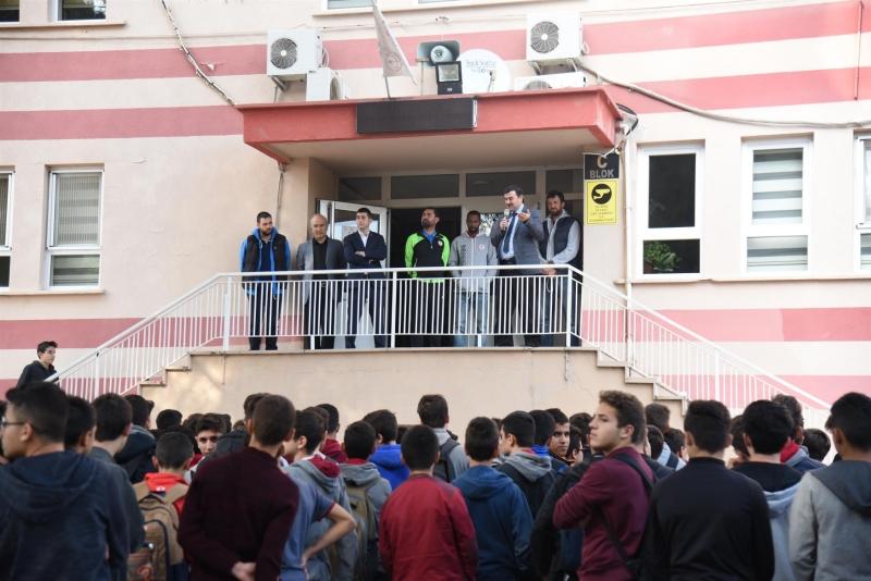 Karesispor imam hatip öğrencileriyle bir araya geldi