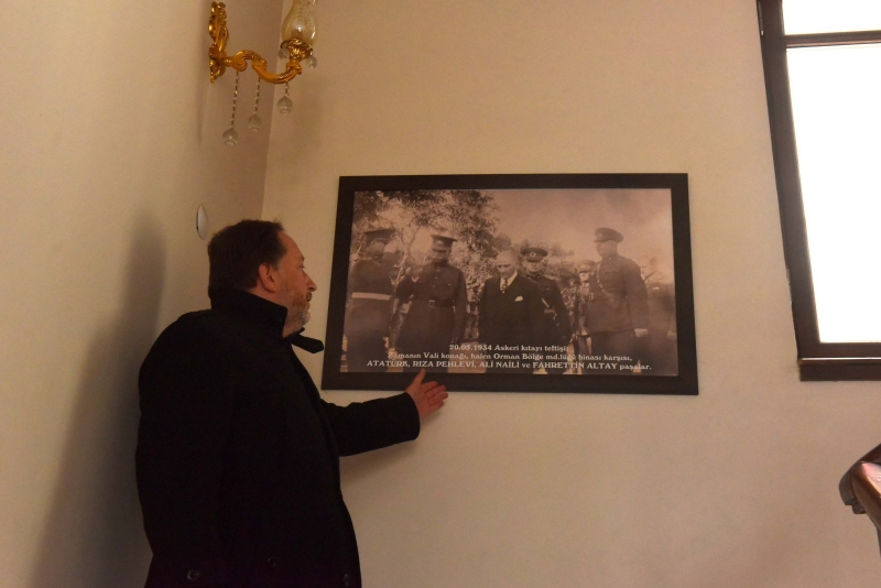 Karesi'ye Atatürk Evi İçin İlk Adım