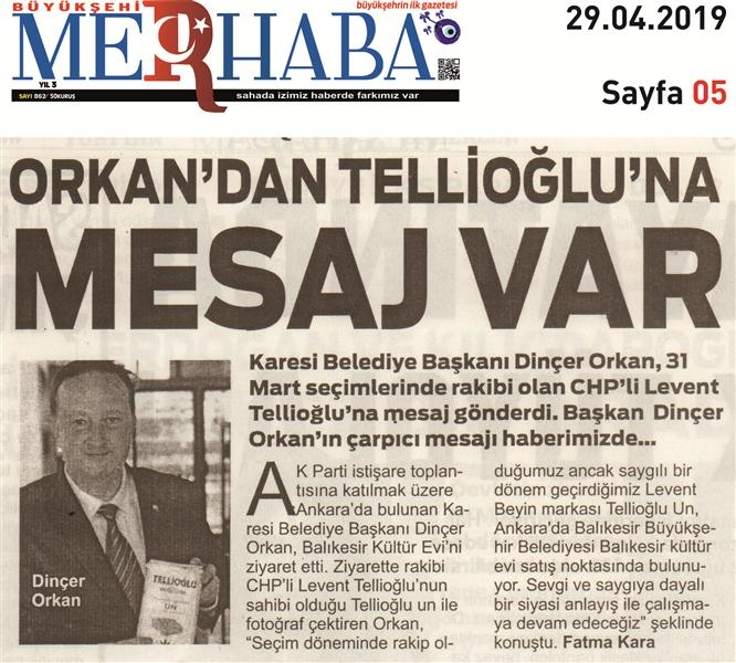 27.04.2019 BASINDA ÇIKAN HABERLERİMİZ