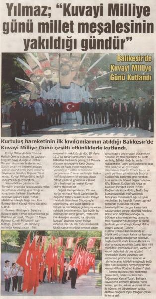 17.05.2019 BASINDA ÇIKAN HABERLERİMİZ...