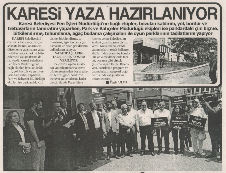 28.05.2019 BASINDA ÇIKAN HABERLERİMİZ