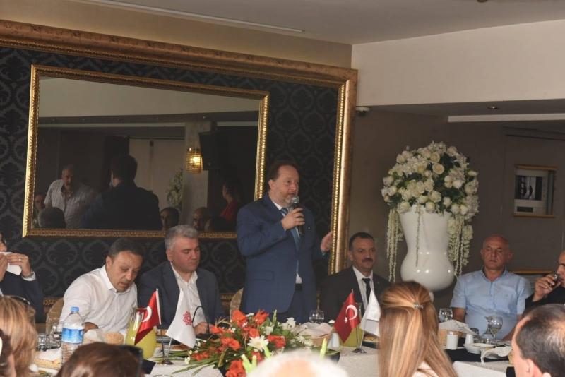 Başkan Orkan'dan Karesi Muhtarları ile bir araya geldi