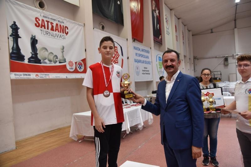 1. Karesi Kuva-yi Milliye Satranç Turnuvası sona erdi