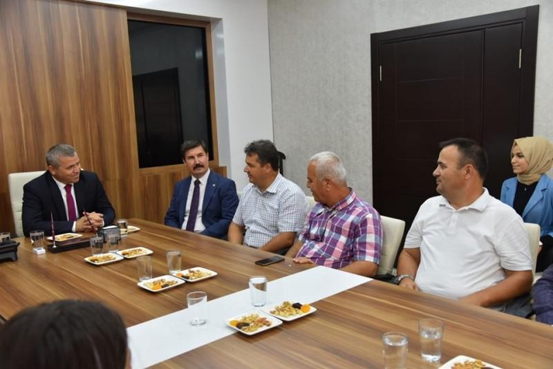 Kent Konseyi'nden Kaymakam Demir'e ziyaret