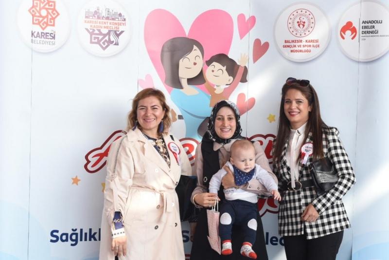 Karesi Kent Konseyi Kadın Meclisi'nden Anne Çocuk Şenliği