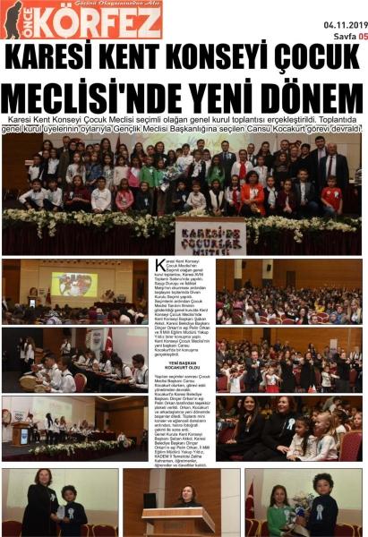 04.11.2019 BASINDA ÇIKAN HABERLERİMİZ