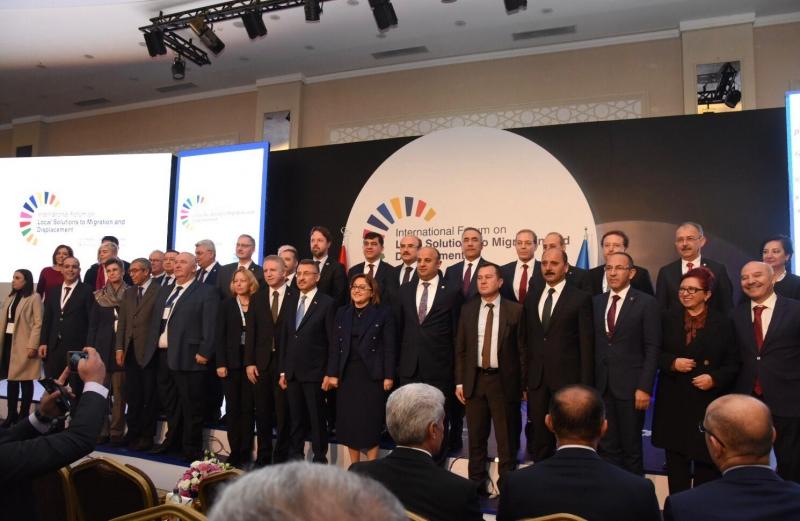 Başkan Orkan, uluslararası göç forumunda konuştu
