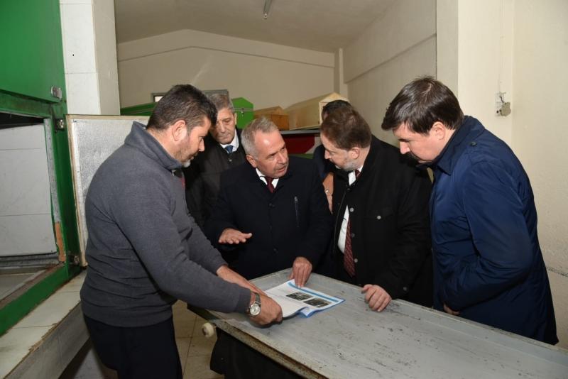 Başkan Orkan Başçeşme'de incelemelerde bulundu