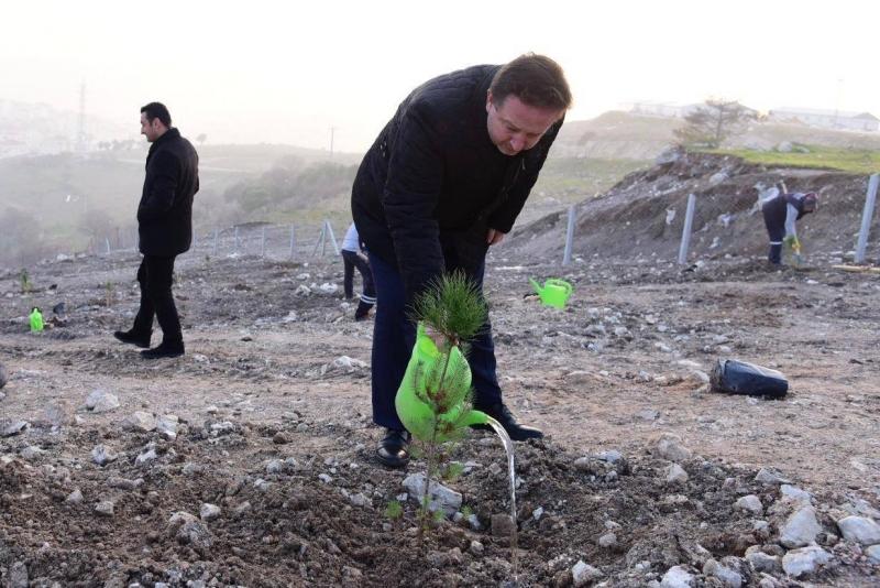 Karesi'de Bir Bebek Bir Fidan Hatıra Ormanı yeşeriyor