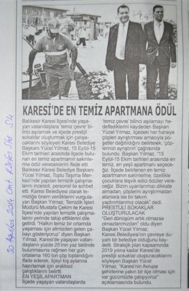 30.08.2014 Basında çıkan haberler