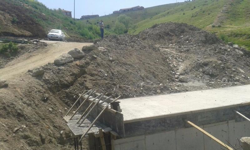 Köprü-Yol-Otopark-Çatı Yapım Çalışmaları