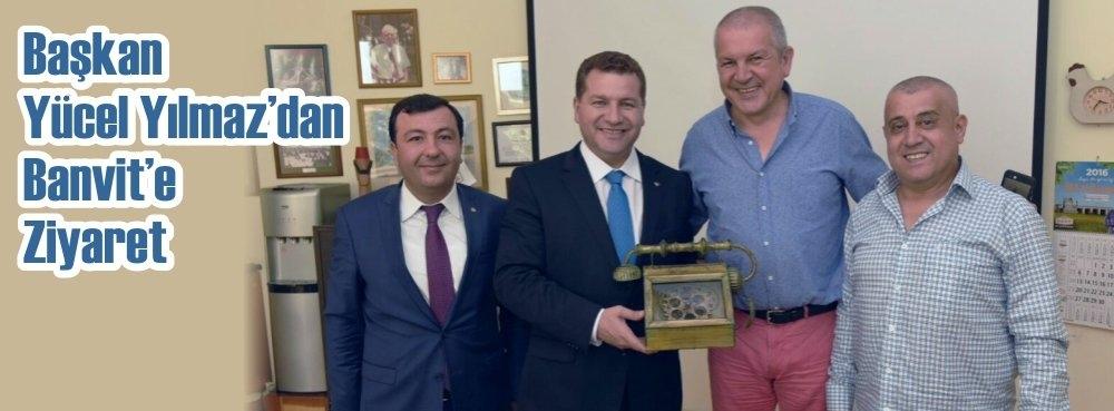 Başkan Yılmaz'dan Banvit'e ziyaret