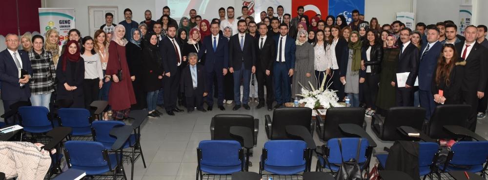 Gençlik ve Spor Bakan Yardımcısı Abdurrahim Boynukalın, Genç Liderler Akademisi'