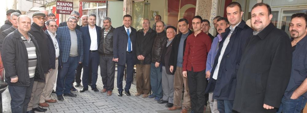 """Başkan Yücel Yılmaz: """"16 Nisan'da Türkiye'ye bahar gelecek"""""""