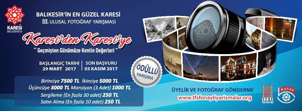 """""""Balıkesir'in En Güzel Karesi"""" III.Ulusal Fotoğraf Yarışması"""