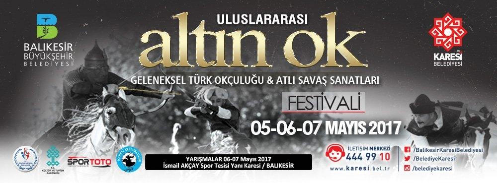 Uluslararası Altın Ok Geleneksel Türk Okçuluğu ve Atlı Savaş Sanatları Festivali