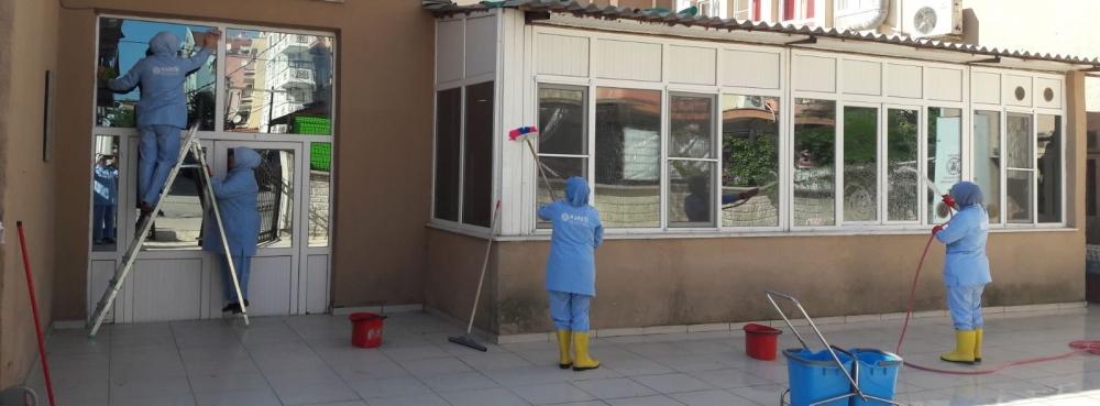 Karesi'nin okulları yeni döneme hazırlanıyor