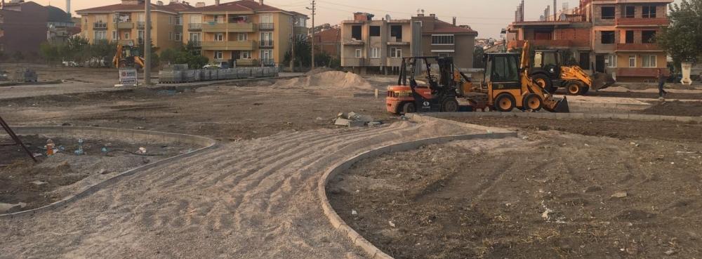 Toygar Mahallesi'ne yeni yeşil alan