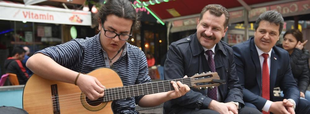 """""""Müzik bu şehrin bir parçası olsun"""""""