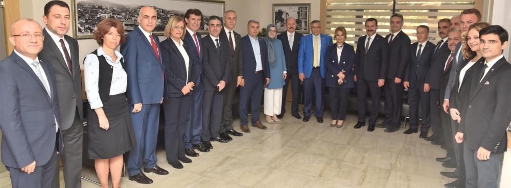 AK Partili Vekiller Karesi'de