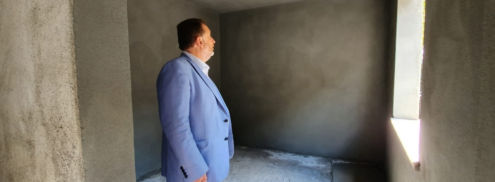 Karesi Belediyesi katkılarıyla Şehitler Parkı'na mescit yapılıyor