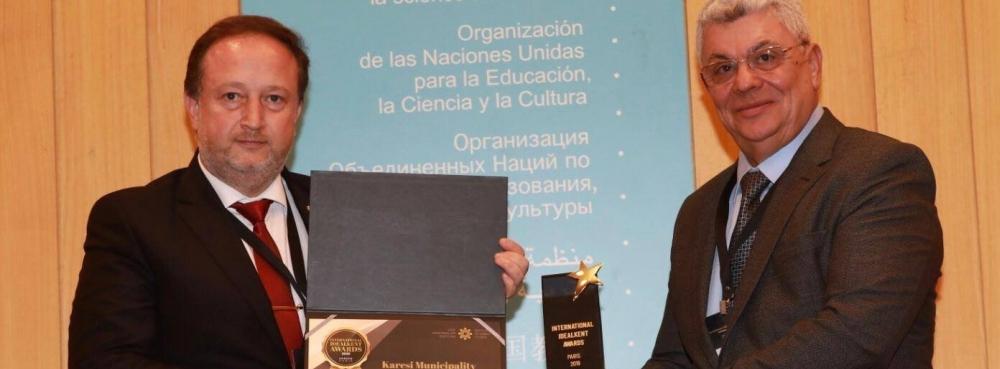 Karesi Belediyesi'ne Uluslararası İdealkent Ödülü