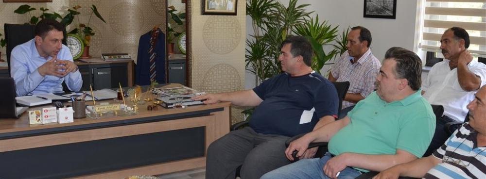 Başkan Sağay, esnafı ağırladı